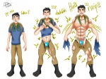 Andro NANO Luke's Muscle Growth Part 1  by LYZbie