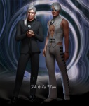 Yale and Lin by Laevi