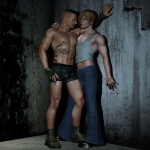 Curtis and Leif by Laevi