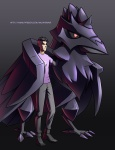 Conalt and Corviknight  by micahdraws
