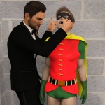 Robin and the Ringmaster| png |