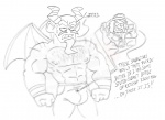 Sketch Preview: Suction Cup Man 2 !  by SlashweilerDog