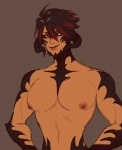 Barou (topless)  by fastpuck