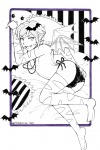 Witchtober Day 3 - Bats by frostyshark  jpg  