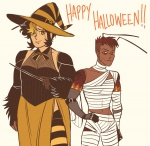 Hive Heart Halloween in Your Webcomics!| png |