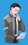 Connor  by amimercury