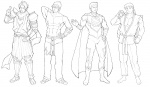 redrawn  characters by darian821