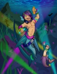 Underwater Rave  by TheKC