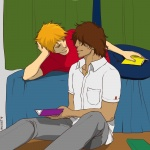It's hard to focus when you look at me like that by Kazuma85 and imlikat