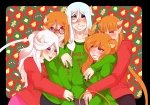Matching family sweaters in Original NSFW Comics| png |