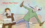 Happy New Year by Biscuit