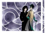 The Undertaker and the Decomposer - Vampire AU by Grimmalkin| jpg |