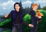 Kylux x Harry Potter by Sparrowlicious