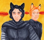 Angry Fox Husbands  by Sparrowlicious